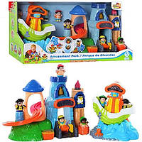 Развивающая игрушка Замок и корабль пиратов