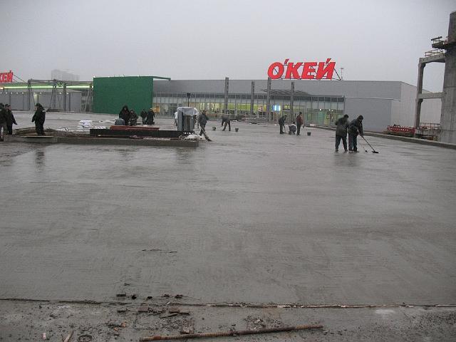 Гидроизоляция перекрытия паркинга (Киев)