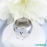 Кольцо. BVLGARI реплика Покриття ЗОЛОТО 19мм. 0648