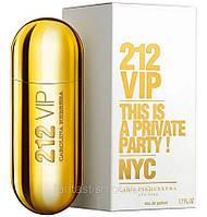 Парфюмированная вода для женщин Carolina Herrera 212 Vip (женские духи каролина херрера 212 вип, лучшая цена )