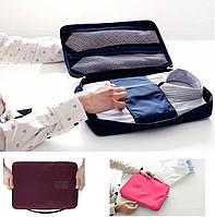 Кейс - органайзер для рубашек и галстуков. Серый