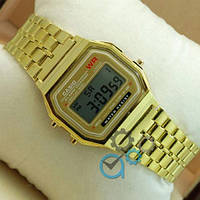 Часы наручные Casio F-91W Water Resist Gold