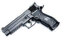 Видео обзор пневматического пистолета KWC Sig Sauer 226 Blowback