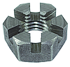 Гайка шестигранная корончатая низкая DIN 979
