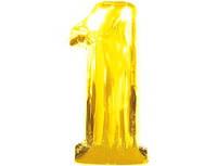 Цифра золото *1* 80 см