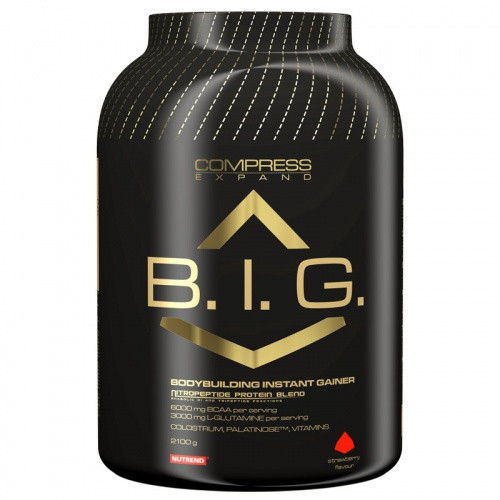 Гейнер Compress B.I.G. (2,1 кг) Nutrend (Compress Expand)