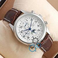 Часы наручные Longines Day phase Silver/White ААА