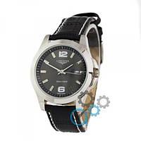 Часы наручные Longines Quartz Black/Silver/Black