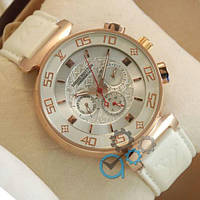 Часы наручные Louis Vuitton Chronograph Gold/White