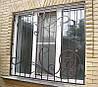 Кованая решетка на окна арт.рк 50
