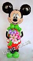 Микки Маус с подтяжками из шаров, фото 1