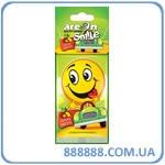 Ароматизатор Areon листочек Smile Dry  тутти - фрутти