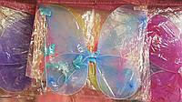 Карнавальные крылья бабочки, ободок, палочка