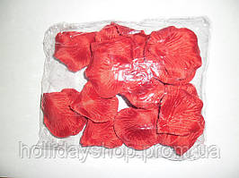 Лепестки роз свадебные красные (600 шт.)