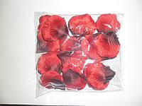 Лепестки роз свадебные темно красные (600 шт.)