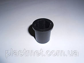Втулка шестигранна 19 мм h=31 мм пластикова