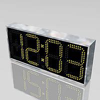 Уличные часы с большим углом обзора 710х315 мм