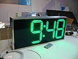 Вуличні годинник з великим кутом огляду 710х315 мм, фото 2
