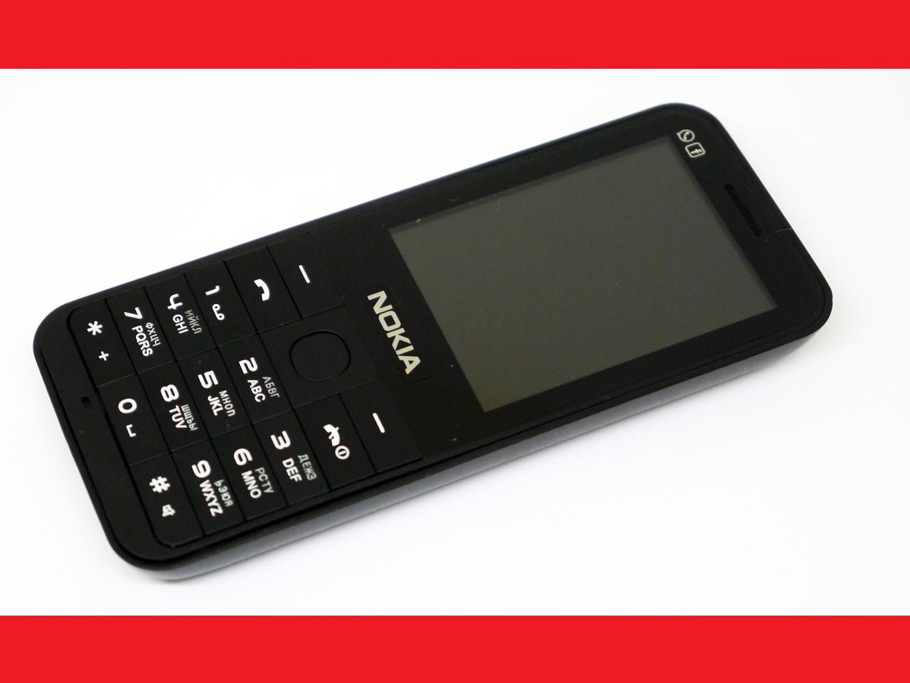 Телефон Nokia 220 Черный - 2Sim + Camera + FM