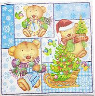 Салфетки новогоднии-14