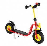 Самокат детский двухколесный Puky Rider L красный Германия надувные колеса