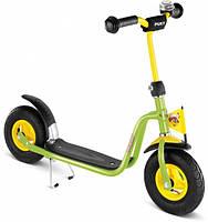 Самокат детский двухколесный Puky Rider L салатовый Германия надувные колеса