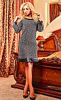 Тёплое женское платье на все случаи жизни