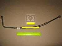 Трубка подвода масла к турбокомпрессору в метал. оплетке короткая
