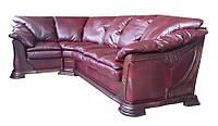 """Раскладной кожаный угловой диван 3Н1 """"Ferenza"""" (Ференза). (310*207 см)"""