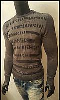 Армани свитер мужской (с принтом)