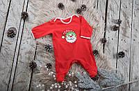 "Новогодний комбинезон ""Little Santa"", размер 62-80"
