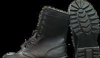 Ботинки Омон утепленные юфть-кирза