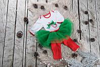 """Новогодний костюм на девочку """"Sweet Caramel"""" 62-80"""