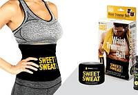 Пояс для похудения Sweet Sweat, осжигающий термопояс для тренировок Свит Свэт