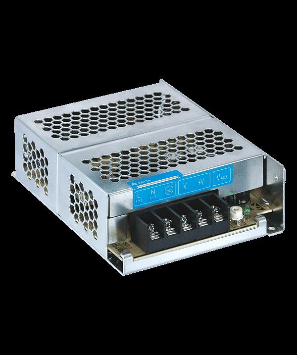 Промышленный источник питания 50Вт/12В/4,17A /Вх.:1-фазн., мет. корпус, для крепл.на панель,PMC-12V050W1AA