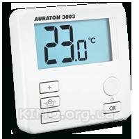 """Суточный цифровой термостат, функция """"эконом"""" 16А проводной Auraton-3003"""
