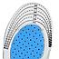 Ортопедические стельки для обуви с антишоковой защитой пятки женские 35-40 размер, фото 7