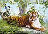 "Бумажные фотообои ""Тигр"" 210х146 см"