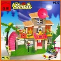 Brick Конструктор Загородный дом 273 дет