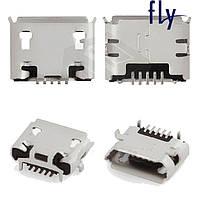 Коннектор зарядки для Fly IQ255 Pride/IQ256 Vogue/IQ430 Evoke, оригинал