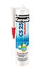 Высокоэластичный силиконовый шов для стыков и примыканий Ceresit CS25