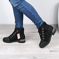 Ботинки женские зимние Maxtor черные  36 размер , зимняя обувь