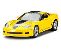 MAISTOАвтомодель (1:24) 2009 Chevrolet Corvette Z06 GT1 жёлтый, фото 1