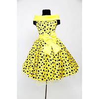 Бальное платье на 4-5 и 6-8 лет Горох