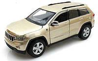 MAISTO Автомодель (1:24) Jeep Grand Cherokee 2011 золотистый