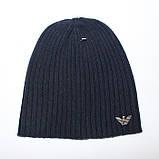 Разные цвета ARMANI шапки вязаные для взрослых и подростков шапка хлопок армани, фото 3
