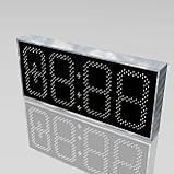 Великі вуличні годинники для магазину 900х400 мм, фото 2