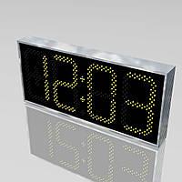 Большие уличные часы для магазина 900х400 мм