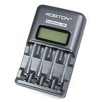 Автоматическая зарядка для аккумуляторов АА/ААА ROBITON Smart Display 1000