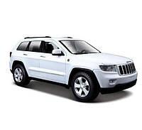MAISTOАвтомодель (1:24) Jeep Grand Cherokee 2011 белый